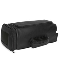 Royce Leather Golf Shoe And Accessory Bag Black