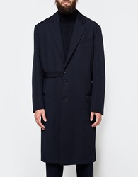 Marni Coat In Blue Navy