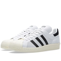 Adidas Consortium Superstar 80S Primeknit White And Black