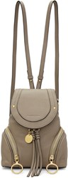 See By Chloe Grey Convertible Backpack