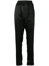 Di Liborio Drawstring Trousers Black