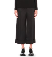 Whistles Margot Cropped Trousers Black