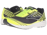 Brooks Asteria Black Nightlife White Men's Running Shoes Yellow