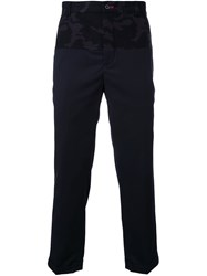 Guild Prime Camouflage Panel Trousers Black