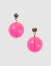 Tarina Tarantino Earrings Fuchsia