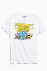 Urban Outfitters Justice Friends Tee White