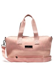 Adidas By Stella Mccartney Studio Snakeskin Effect Print Holdall Light Pink