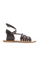 Band Of Outsiders Strappy Sandals In Black