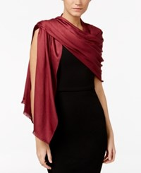 Inc International Concepts Satin Wrap Only At Macy's Wine