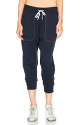 Nlst Zip Pocket Harem Pants In Blue