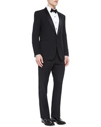 Ralph Lauren Black Label Basic Shawl Collar Tuxedo Black