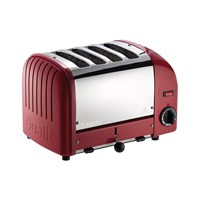 Dualit Classic Heritage Toaster Theatre Red 4 Slot