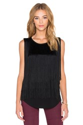 Generation Love Liam Fringe Tank Black