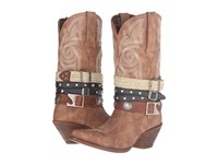 Durango Crush Western Accessory 12 Tan Cowboy Boots
