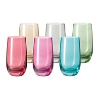 Leonardo Sora Tall Tumbler Assorted Set Of 6