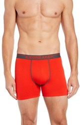Icebreaker Anatomica Boxers Chili Red Monsoon