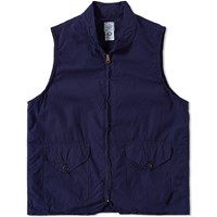 Post Overalls Cruz Vest Blue