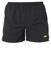Helly Hansen Pace Wicked Wednesday Sports Shorts Ebony Neon Yellow Stone