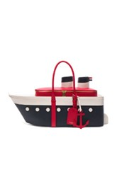 Thom Browne Cruise Liner Bag In Blue White Red Blue White Red