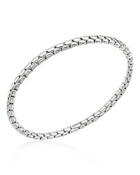 Chimento 18K White Gold Stretch Spring Bracelet