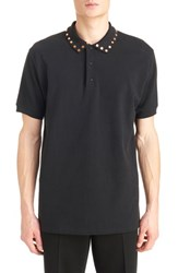 Givenchy Men's Studded Collar Polo
