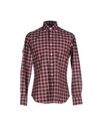 Mastai Ferretti Shirts Shirts Men Red