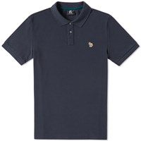 Paul Smith Regular Fit Zebra Polo Grey