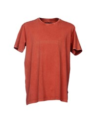 Suit T Shirts Brick Red