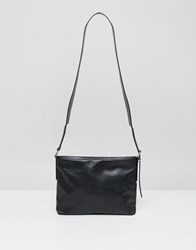 Weekday Neptune Leather Bag Black