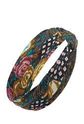 Forever 21 Floral Paisley Twisted Headwrap