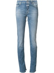 Closed Internal Slid Straight Jeans Blue