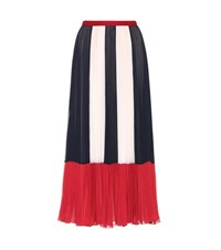 Red Valentino Pleated Skirt Multicoloured