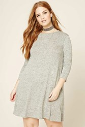 Forever 21 Plus Size Marled Swing Dress