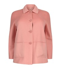 Marina Rinaldi Reversible Pea Coat Female Pink