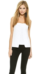 Camilla And Marc Down Sight Bustier Top White