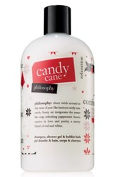 Philosophy Candy Cane Shampoo Shower Gel And Bubble Bath No Color