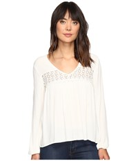 Billabong Open Horizon Top Cool Wip Women's Blouse Bone