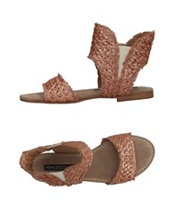 Francesco Morichetti Sandals Copper
