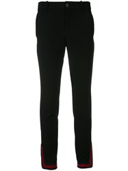 Gucci Web Zipped Cuff Trousers Black