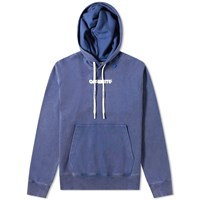 Off White Skulls Slim Popover Hoody Blue