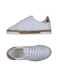 Macarena Footwear Low Tops And Sneakers White