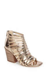 Isola Women's Ianna Cage Sandal Warm Gold Leather