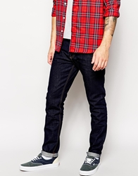 Bellfield Tapered Raw Indigo Jeans