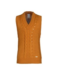 Gianfranco Ferre Gf Ferre' Knitwear Jumpers Men Ocher