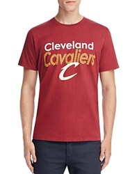 Junk Food Cleveland Cavaliers Graphic Tee Crimsom