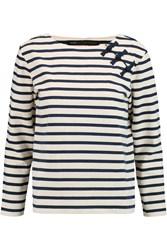 Marc By Marc Jacobs Striped Cotton Top Blue