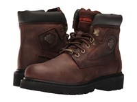 Harley Davidson Bayport Brown Men's Lace Up Boots