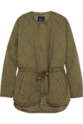 Madewell Quilted Cotton Twill Jacket