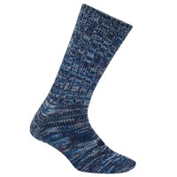John Lewis Yamato Stripe Socks One Size Blue