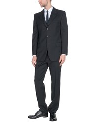 Saint Laurent Suits Steel Grey